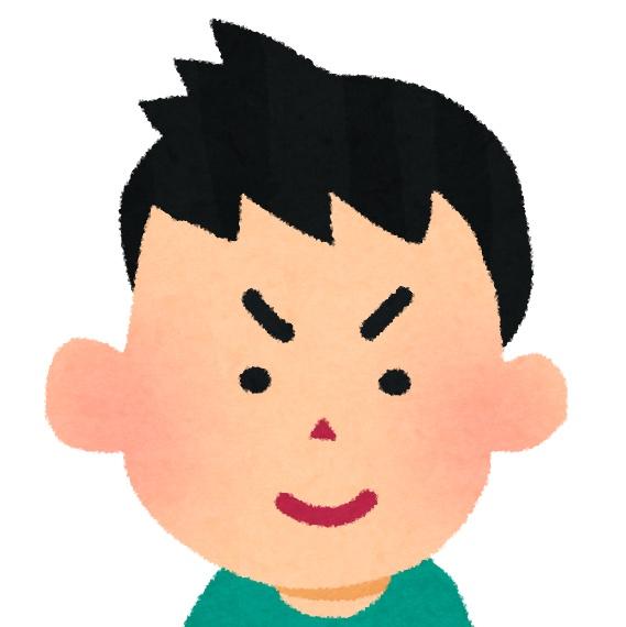 息子トム(中学生当時)